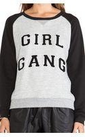 Zoe Karssen Girl Gang Sweatshirt - Lyst