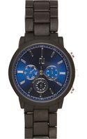 River Island Black Matte Rubber Bracelet Watch - Lyst