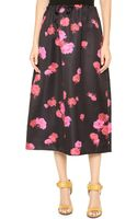 No 21 Floral Maxi Skirt Floral - Lyst
