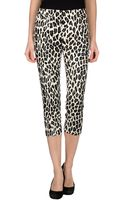 MSGM 3/4 Length Trousers - Lyst