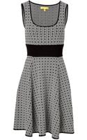 Catherine Malandrino Knit Twotone Caroline Dress - Lyst
