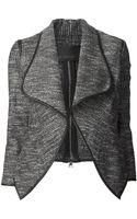 Yigal Azrouel Metallic Tweed Jacket - Lyst