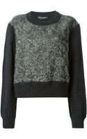 Dolce & Gabbana Brocade Sweater - Lyst