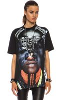 Givenchy Multi Portrait Cotton Tee - Lyst