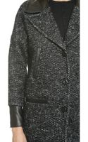 Mackage Yolanda Wool Coat - Black - Lyst