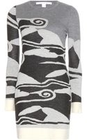 Diane Von Furstenberg Berlin Wool Sweater Dress - Lyst