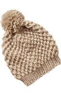 Old Navy Sweater-knit Pom-pom Hats - Lyst