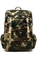 Scotch & Soda Allover Printed Canvas Backpack - Lyst