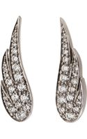 Anita Ko Wing Earrings - Lyst