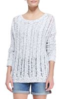 Vince Cableknitopenstitch Sweater - Lyst