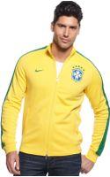 Nike N98 Brasil Authentic Track Jacket - Lyst