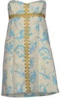 Tibi Short Dress - Lyst