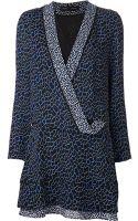 Proenza Schouler Printed Dress - Lyst