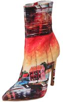 Jeffrey Campbell 110mm Printed Cotton Boots - Lyst
