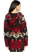 Polo Ralph Lauren Intarsia-knit Wool Cardigan - Lyst