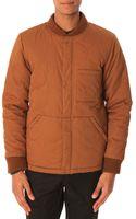La Panoplie Brown Quilted Jacket - Lyst