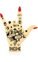 Maria Francesca Pepe Hand Graffiti Collection Pin - Lyst