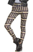 Material Girl Chain Print Leggings - Lyst