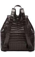 Nancy Gonzalez Crocodile Backpack - Lyst