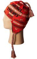 Pendleton Knit Tassel Cap - Lyst