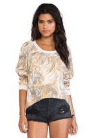 Chaser All Over Tigers Sweatshirt - Lyst