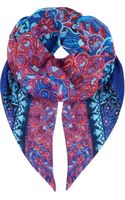 Gottex Exotic Peacock Scarf - Lyst