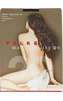 Falke Matt Deluxe 20 Denier Tights - Lyst