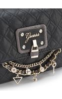 Guess Liane Quilted Crossbody Bag - Lyst