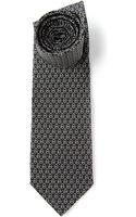 Ferragamo Monogram Jacquard Tie - Lyst
