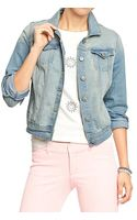 Old Navy Denim Jackets - Lyst