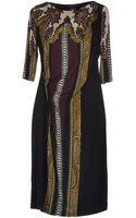 Etro Knee Length Dress - Lyst