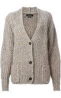 Isabel Marant Franckcoat Knitted Cardigan - Lyst