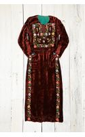 Free People Vintage Handmade Velvet Dress - Lyst