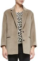 Rag & Bone Sigrid Two-button Wool-blend Coat - Lyst