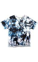 Cynthia Rowley Space Dye Tweed T-shirt - Lyst