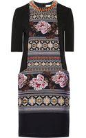 Matthew Williamson Embellished Matelassã and Jacquard Dress - Lyst