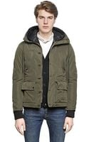 Golden Goose Deluxe Brand Nylon Canvas Parka Down Jacket - Lyst