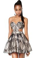 Nasty Gal Collection Mischief Maker Lace Dress - Lyst