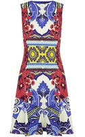 Etro Cady Floral Dress - Lyst