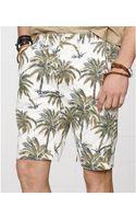 Denim & Supply Ralph Lauren Palm Tree Twill Shorts - Lyst