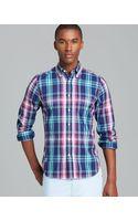 Gant Rugger Windblown Plaid Oxford Sport Shirt Slim Fit - Lyst