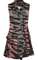 McQ by Alexander McQueen Printed Scubajersey Dress - Lyst