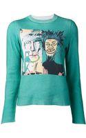 Lucien Pellat Finet Jeanmichel Basquiat Pullover - Lyst