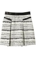 Rebecca Taylor Rafia Tweed Skirt - Lyst