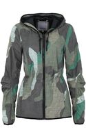 Bench Soldery Camo Print Hooded Jacket - Lyst