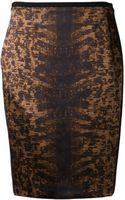 Reed Krakoff Tejus Satin Pencil Skirt - Lyst