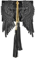 Roberto Cavalli Arion Black Calfhair Whorse Patchwork in Ayers and Suede - Lyst