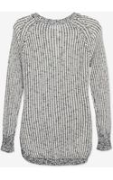 Shae Exclusive Marled Open Weave Sweater - Lyst