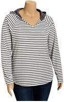 Old Navy Plus Hooded Jersey Tops - Lyst