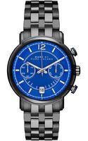 Marc By Marc Jacobs Fergus Gunmetaltone Stainless Steel Link Bracelet Watch - Lyst
